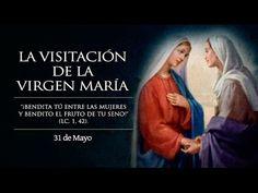 """HOY ES LA FIESTA DE LA VISITACIÓN DE MARÍA: """"¡BENDITA TÚ ENTRE LAS MUJERES!""""  https://www.youtube.com/watch?v=pFPixe64M_I"""