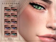 Eyecolors in 18 Colours. Found in TSR Category 'Sims 4 Eye Colors' Sims 4 Tsr, Sims Cc, Eye Colors, Colours, Sims 4 Cc Eyes, Sims Packs, Sims 4 Cc Furniture, Sims Community, Sims Resource