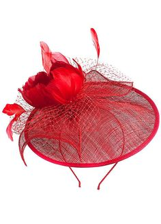 Alexon Rose Fascinator - Kaleidoscope
