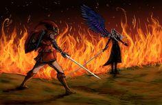 Link vs Sephiroth