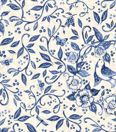 Susan Winget Premium Quilt Print-China Blue Birds, , hi-res      THIS IS TOTALLY YOU SARA FOREMAN