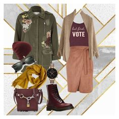 Весенний casual 2 by gloriozo on Polyvore featuring мода, River Island, Dr. Martens, Alexander Wang, Olivia Burton, Hermès and Ray-Ban