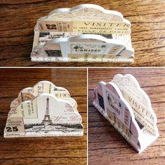 Servilletero PARÍS 12,5 cm x 8 cm x 4,5 cm