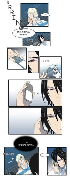 LOL. Funny moment ~Noblesse