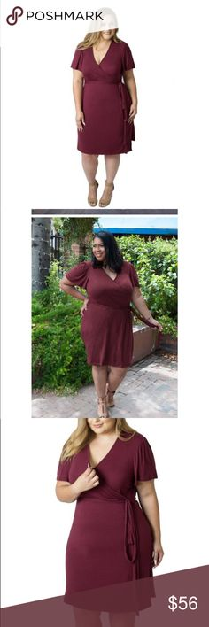 Whitney Nursing Wrap Dress A chic, super-soft wrap dress for Curvy mamas! The sash easily unties for nursing and pumping, while the special removable inner panel provides extra coverage for breastfeeding. Udderly Hot Mama Dresses