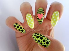 The RAWR Shop: GET POLISHED- Pretty In Polka Dots  Pretty Done by Winnie
