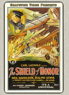 The Shield of Honor (1927) Neil Hamilton, Ralph Lewis and Dorothy Gulliver star in this drama about a father and son who are both police officers. Directed by Emory Johnson. http://www.grapevinevideo.com/shield-of-honor.html