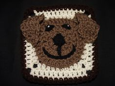 Ravelry: Project Gallery for Funny Face Square pattern by Carola Wijma