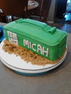 Geocaching cake-- groom's cake idea?