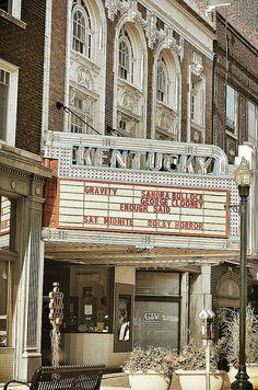 Kentucky Theater - Lexington, Kentucky... our first date- March 1987, Little Shop of Horrors... :-)