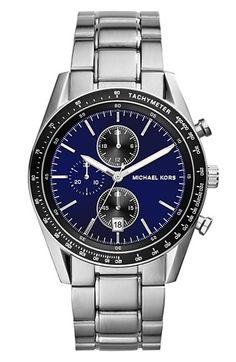 7763c32b8584 Michael Kors  Accelerator  Chronograph Bracelet Watch