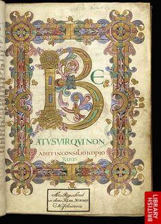 book design medieval