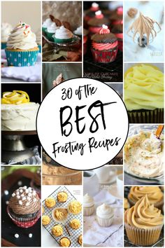 Today, I'm sharing 30 of the best frosting recipes! From basic buttercream to very vanilla and everything in between, you're sure to find a perfect frosting for your next baking endeavor! You guys know I LOVE frosting. I even started Frosting Friday on Cookies & Cups to spread the love of frosting on a regular... Read More
