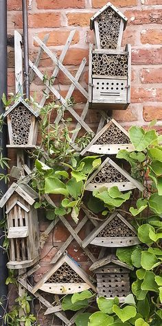 Why not encouraging more bees in your garden by creating a bee hotel? Thanks Julie Sutton for the picture!