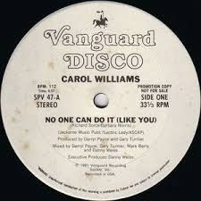 Funk-Disco-Soul-Groove-Rap: Carol_Williams-No_One_Can_Do_It