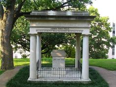 Grave of James K. Polk, Nashville, TN