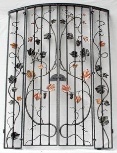 Custom Made Wrought Iron Gates