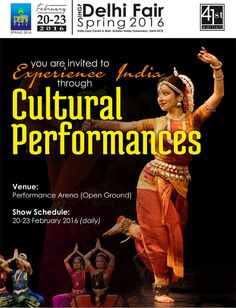 Experience The Indian Cultural Performances at The IHGF Delhi Fair, Spring 2016 #home #lifestyle #fashion #tradeshows