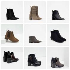 Ankle boots da giorno Zara inverno 2015 2016. Lei Trendy · Cute shoes f26aa9b299b
