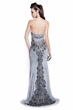 Cristine Couture Hand Sewn Gown - Style Alexa-11 Main