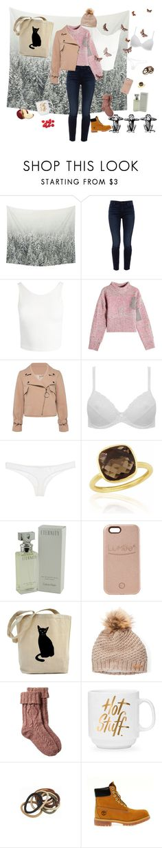 """Don't care!"" by candycandy150 ❤ liked on Polyvore featuring Jen7, Sans Souci, 3.1 Phillip Lim, M&Co, Christies, Calvin Klein, LuMee, Fat Face and Timberland"