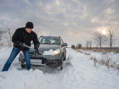 How To Survive Being Trapped In Your Car During A Snowstorm