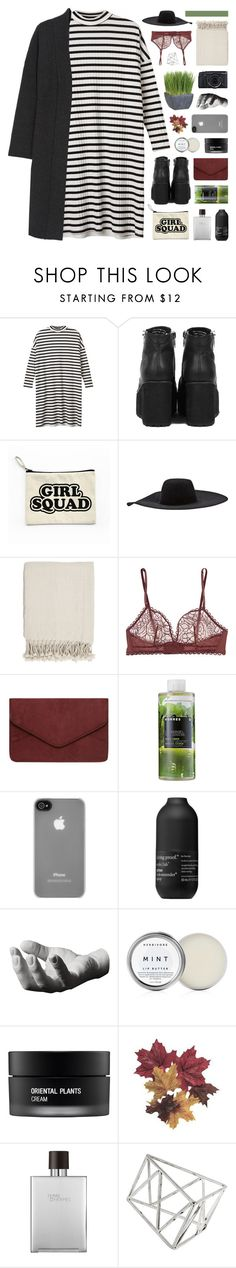 """""""i ain't thinking 'bout you"""" by hhuricane ❤ liked on Polyvore featuring Monki, Lanvin, Surya, Eres, Dorothy Perkins, Korres, Incase, Living Proof, Areaware and Herbivore"""
