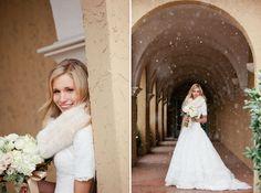 {Love Notes}. El blog de bodas de Vintage & Chic: {Una boda de invierno y una sesión en la nieve}