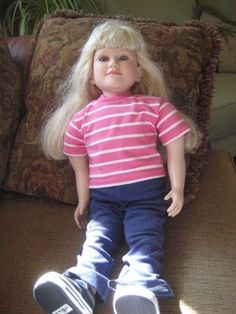 """MY TWINN BROWN Two-Toned Hi-Top HIKING DOLL BOOTS SHOES fits 23/"""" Poseable Doll"""