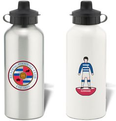 Keep yourself hydrated in style with your own personalised Reading FC Subbuteo Water Bottle.