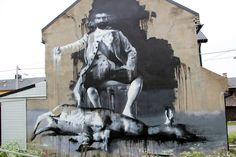 Conor Harrington New Mural In Vardø, Norway StreetArtNews