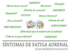Síntomas Detallados de Fatiga Adrenal