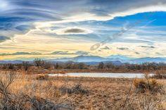 Beautiful Front Range of the Rockies Pond  by EagleEyeOriginals, $30.00