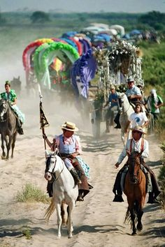 El Rocío The Province, Andalusia, Pilgrimage, Countryside, Camel, Two By Two, Spain, Carving, Europe