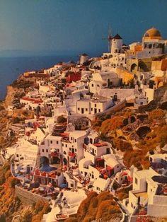 things I ------: Santorini