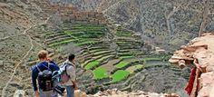 Aussergewöhnliche Hotels: Kasbah du Toubkal, Blick auf die Plantagen