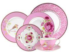 Amazon.com: PiP Studio - Pink 24 Piece Set:$239.00  Dinnerware Sets: Kitchen & Dining