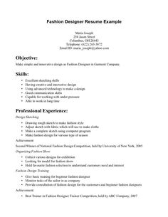 cv internship fashion fashion designer freshers cv samples formats fashion - Sample Resume For Fashion Designer