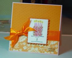 blooming birthday cards by paulatracy - Cards and Paper Crafts at Splitcoaststampers. Blooming with Happiness.