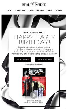 SL: Happy (early) birthday! PH: Lizette, open your birthday gift early!