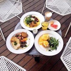 #regram @fastynabila The works and the gang! #alldaybreakfast #huubistro #foodforthesoul #seminyak #bali