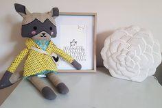 IG - brokentricycle_art  Where the wild kids are print and his pals!  https://www.etsy.com/au/listing/465310891/kids-room-print-the-jabbermocky-print?ref=shop_home_active_9 #kidsinteriors #kidswallart #kidsroom #childrensroom #kidsdecor #etsy
