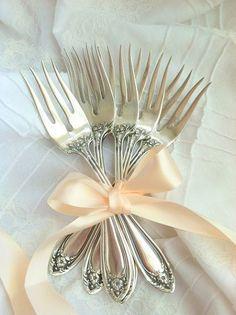 Sterling Silver Salad Forks