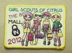 Girl Scout Citrus Council 100th year. Mall Lock In. Thank you, Talli.