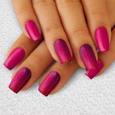Pink Nail Art, Pink Nails, Cute Nails, Beauty, Pretty Nails, Pink Nail, Beauty Illustration, Nail Pink