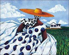 My favorite Jonathan Green, low country artist. Think this is the artist whose work I saw in the market in Charleston, SC