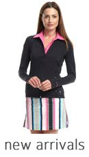 Smashing Golf & Tennis Pink Houndstooth Collection | Golf4Her