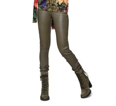 Leather Leggings With Stretchy Waist   Fabiboutique Leather Leggings, Footwear, Boots, Clothes, Women, Style, Fashion, Crotch Boots, Outfits