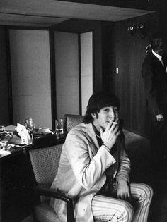 John Lennon in Japan 1966
