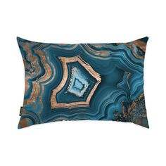 Found it at AllModern - Profondeville Dreaming About You Geode Lumbar Pillow